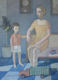 """Madre e figlio (Mother and son)"""