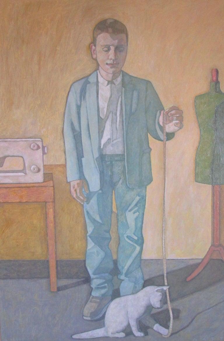 """The Tailor"" - Painting by Luigi Gatti"