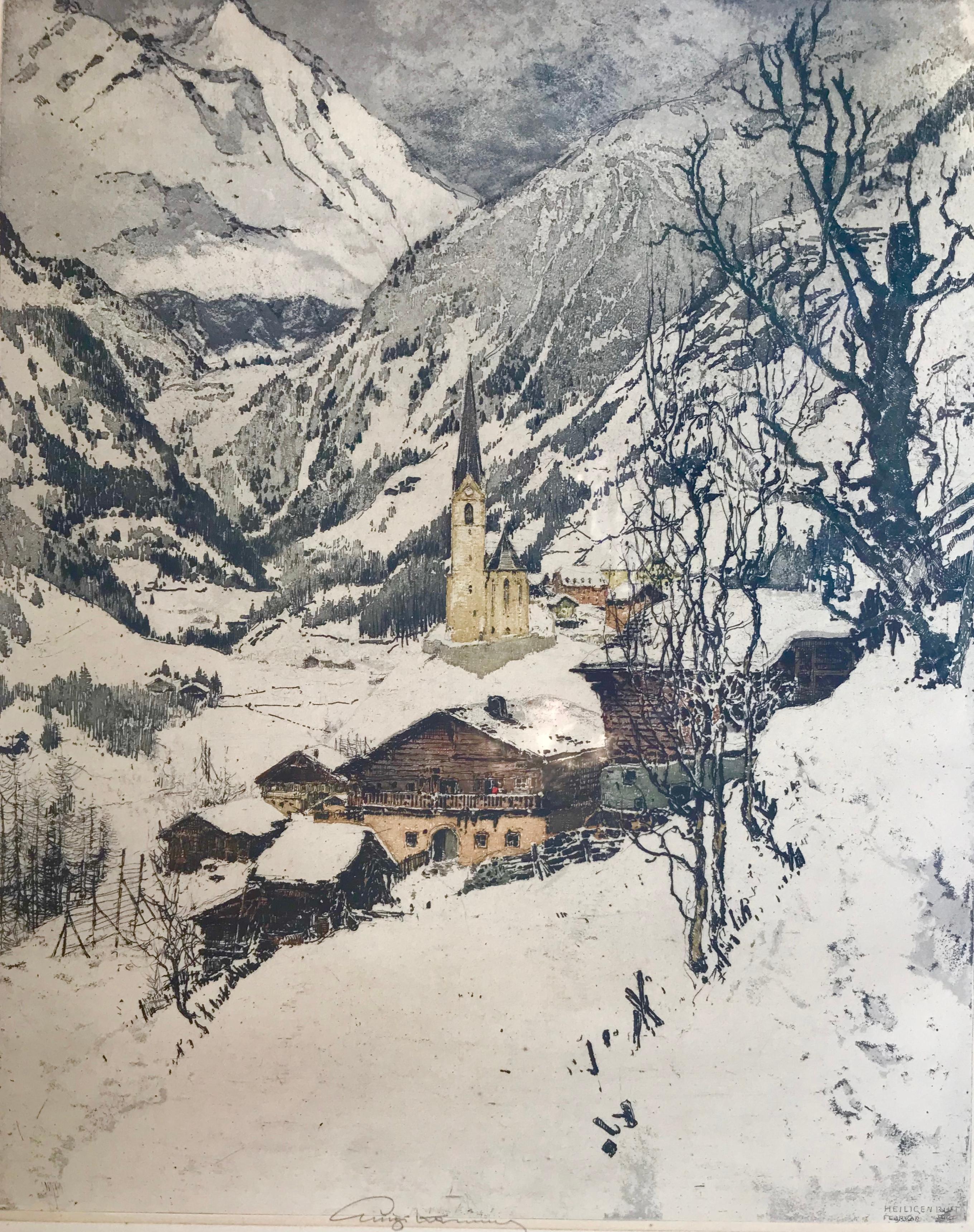 """Heligenblut, Austria"""