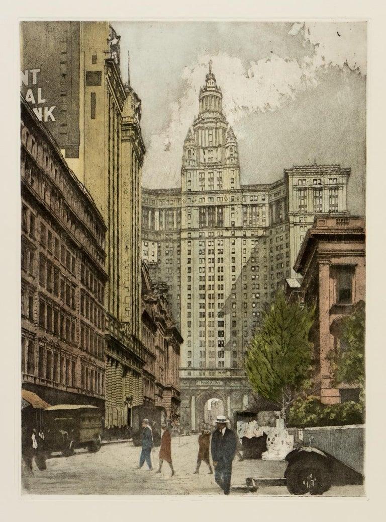 New York, New York City - Print by Luigi Kasimir