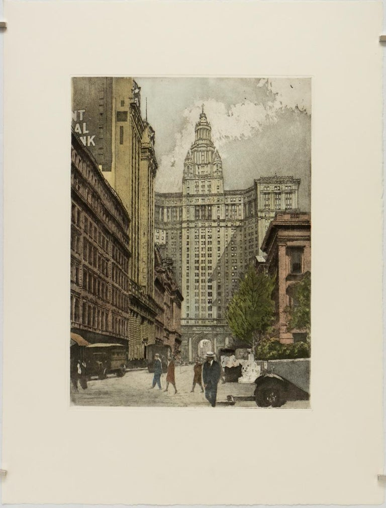 Luigi Kasimir Print - New York, New York City