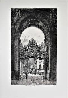 Palace Gate, Vienna, Austria