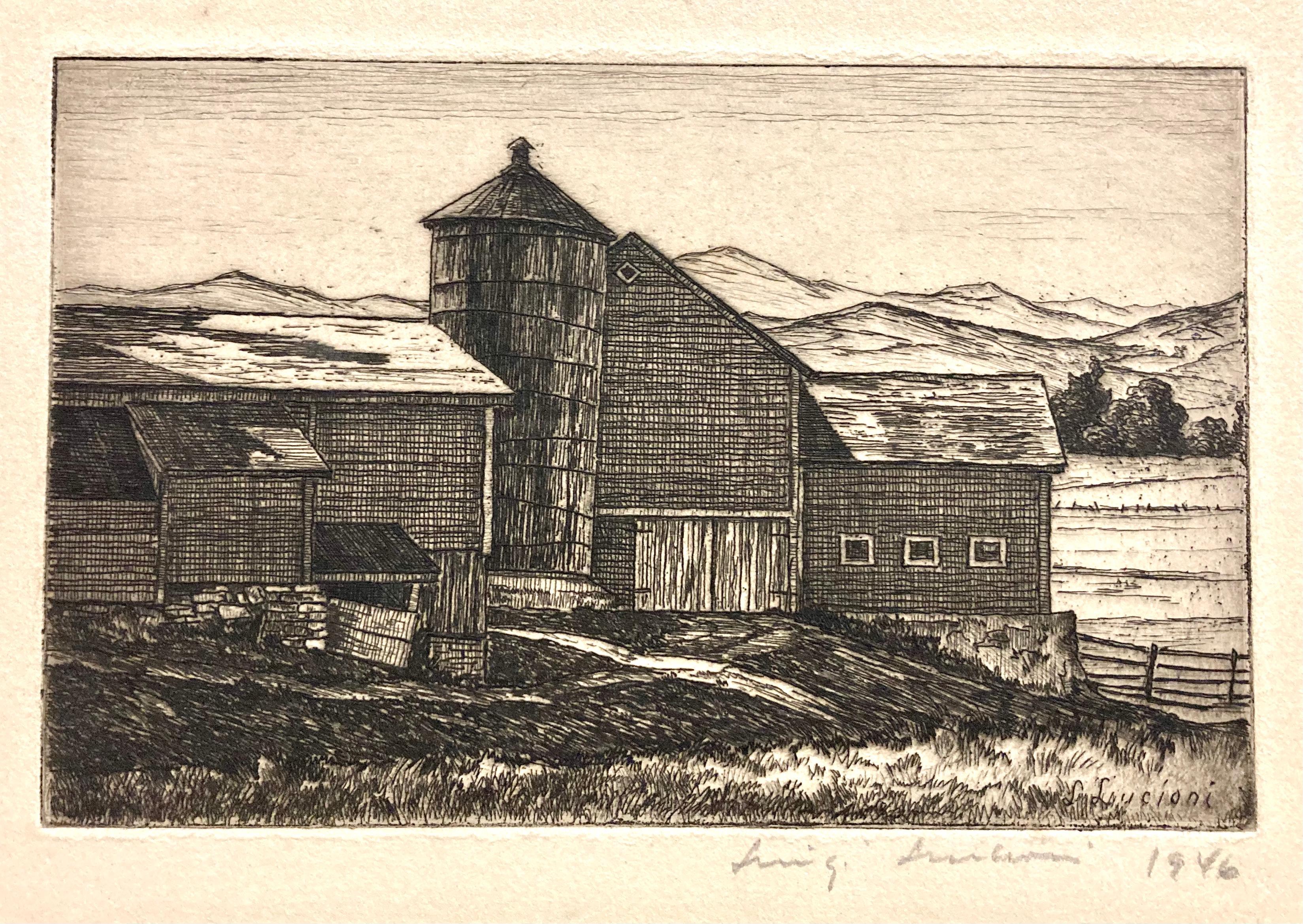 (New England Barn)
