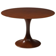 Luigi Massoni Dining Table Model 2101 in Walnut