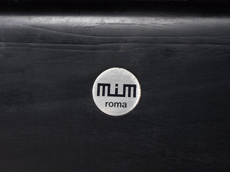 Luigi Pellegrin for MIM Roma Sectional Sofa in Light Brown Velvet Upholstery For Sale 4