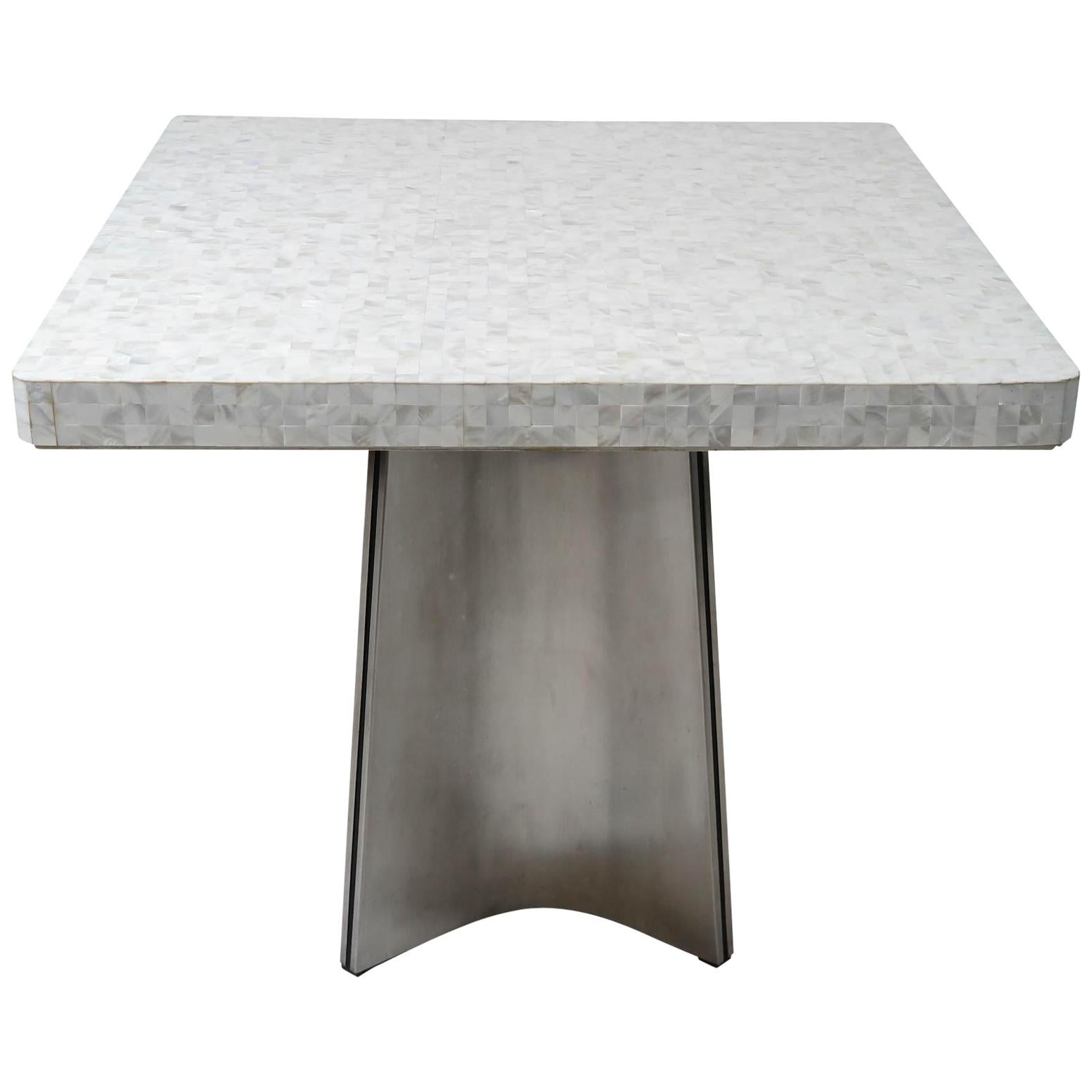 Luigi Saccardo Mother of Pearl Table