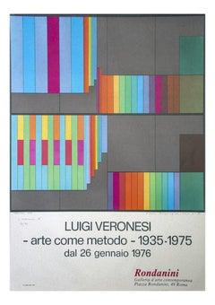 Luigi Veronesi - Vintage Poster - 1976