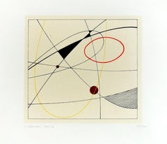 Untitled Composition - Original Screen Print by Luigi Veronesi - 1976