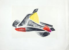 Untitled  - Original Lithograph by Luigi Veronesi - 1976
