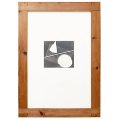 Luigi Veronesi Rayograph Hand Signed Photography, 1937
