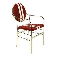 Luigina Gold Blacksport Chair by Sotow