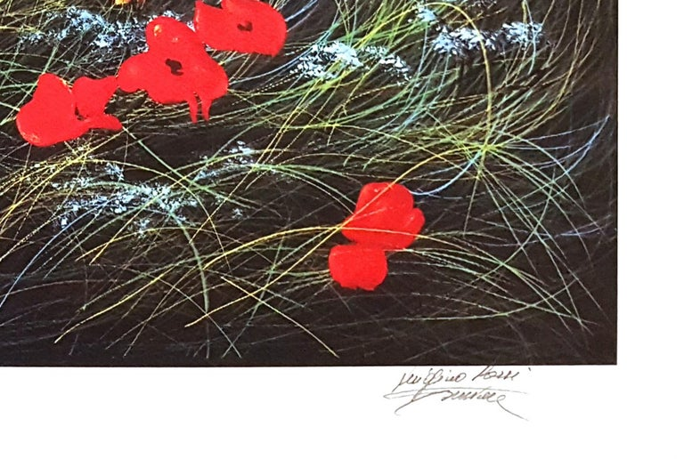 Hand signed. Artist's proof. Image Dimensions : 40 x 80 cm Excellent conditions.