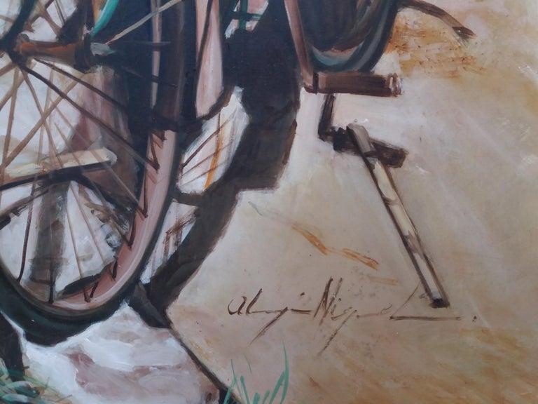 Almazan  Still Life Acrylic Painting For Sale 6
