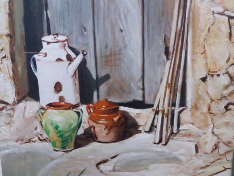 Almazan  Still Life Acrylic Painting For Sale 7