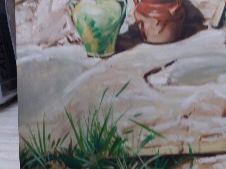 Almazan  Still Life Acrylic Painting For Sale 9