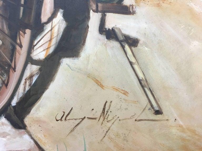 Almazan  Still Life Acrylic Painting For Sale 1