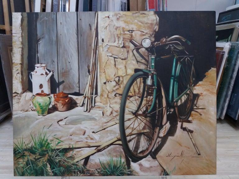 Almazan  Still Life Acrylic Painting For Sale 4