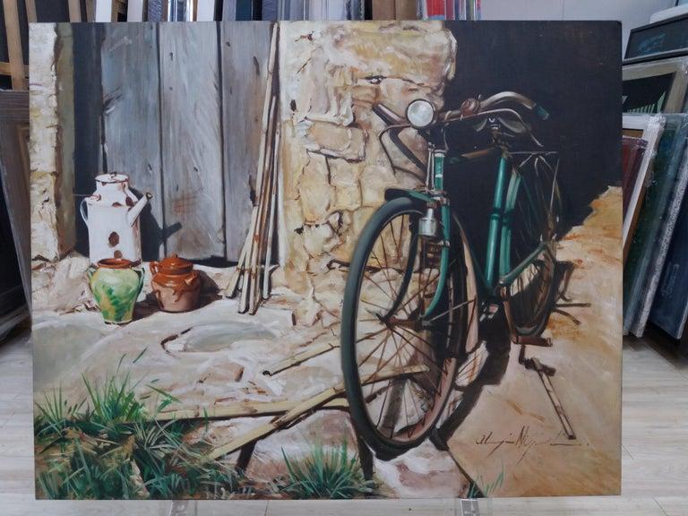 Almazan  Still Life Acrylic Painting For Sale 5