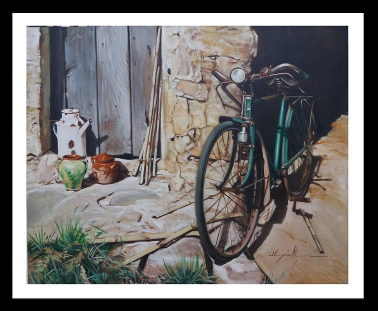 Luis Almazan Miquel Figurative Painting - Almazan Realistic Still Life Acrylic Painting