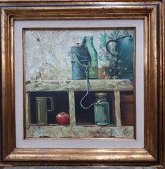 Original Realistic Still Life Acrylic Painting