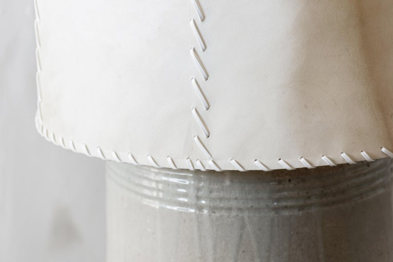 Mid-20th Century Luis Barragan '1902-1988' Ceramic Table Lamp, Mexico, 1952 For Sale
