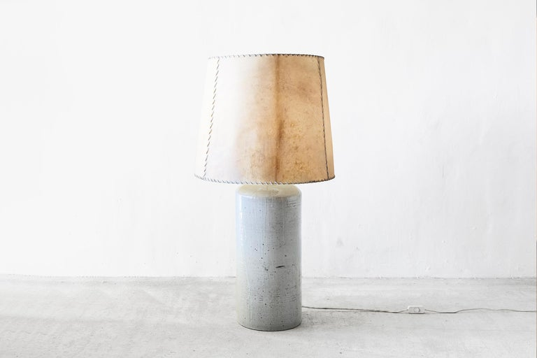 Luis Barragan '1902-1988' Ceramic Table Lamp, Mexico, 1952 For Sale 1