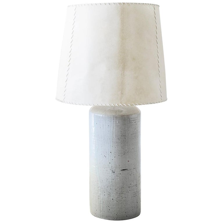 Luis Barragan '1902-1988' Ceramic Table Lamp, Mexico, 1952 For Sale