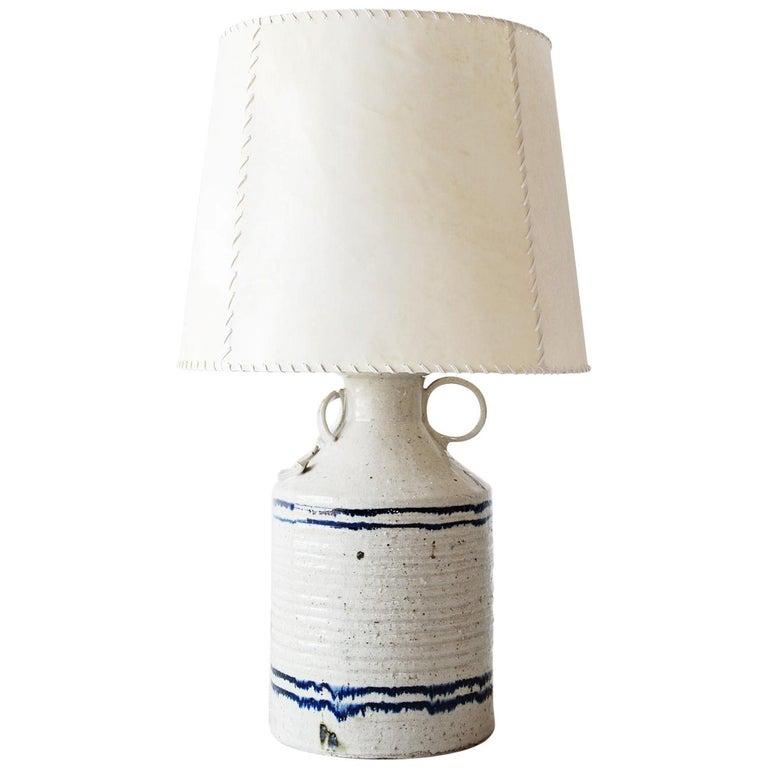 Luis Barragán '1902-1988' Ceramic Table Lamp, Mexico, 1952 For Sale