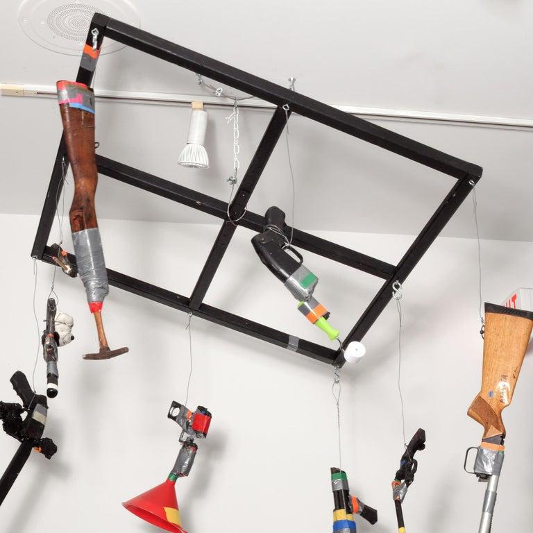 Carousel - Contemporary Sculpture by Luis Cruz Azaceta