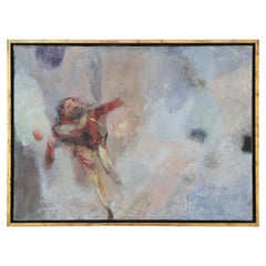 """Paratrooper"" Modern Abstract Impressionist Figurative Portrait of Soldier"