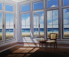Afternoon by the Sea - original  Landscape painting