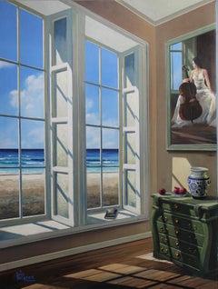 Afternoon Light - original oil landscape seascape painting