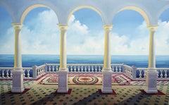 Arches - original Landscape painting modern contemporary Art