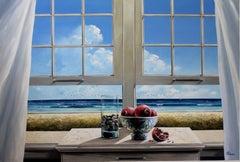 Open Window original  Landscape painting