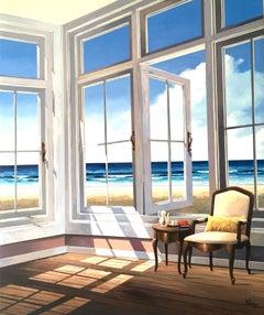 Peaceful View - original  Landscape painting