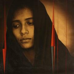 """""""Mobius - Perdida en su Pensamiento (Lost in Thought)"""" photograph on canvas"""