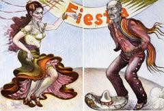 Fiesta (Diptych)