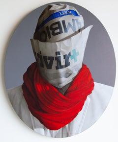 """Retrato No.9"", Luis Selem, Figurative, Contemporary, Pop art, 21th."