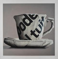"""Luis Selem, """"Serie Poder I"""", Contemporary, Cup, Giclée, Gray"""