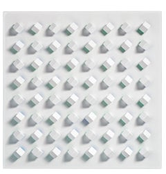 Luis Tomasello, Atmosphère chromoplastique N° 994, Acrylic on Wood, 2011