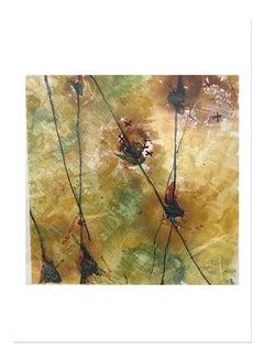 Si Me Rompes Me Remiendo 1, Monotype/Paper, 20 x 20, Venezuelan Artist ,MOMA