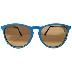 Luisstyle blue light orange lens sunglasses NWOT