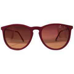 Luisstyle fucsia and orange lens sunglasses NWOT