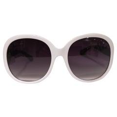 Luisstyle white sunglasses NWOT
