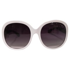 Luisstyle white sunglasses NWOT