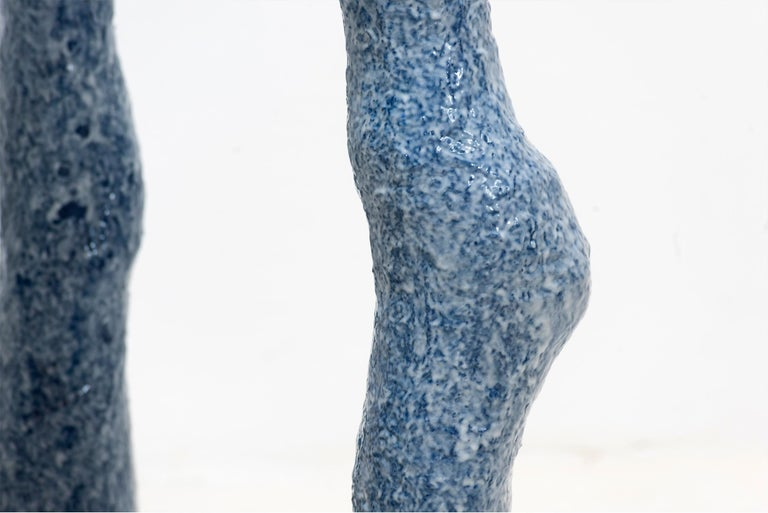 Lukas Saint-Joigny, Contemporary Desk/Table, Blue, Polyurethane, Paris, 2020 In New Condition For Sale In Barcelona, ES