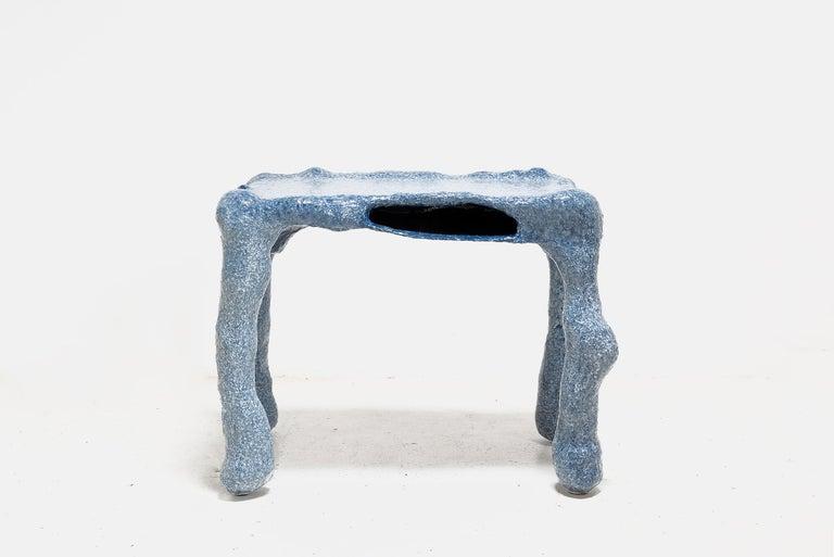 Lukas Saint-Joigny, Contemporary Desk/Table, Blue, Polyurethane, Paris, 2020 For Sale 1