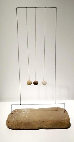 Harpa De Tres Piedras - 21st Century, Contemporary Art, Abstract Sculpture, Wire