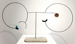 Helio II - 21st Century, Contemporary Art, Abstract Sculpture, Recycled Objects