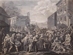 The March to Finchley, after William Hogarth